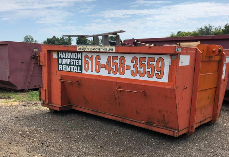 Grand Rapids Dumpster rental by harmon dumpster rental